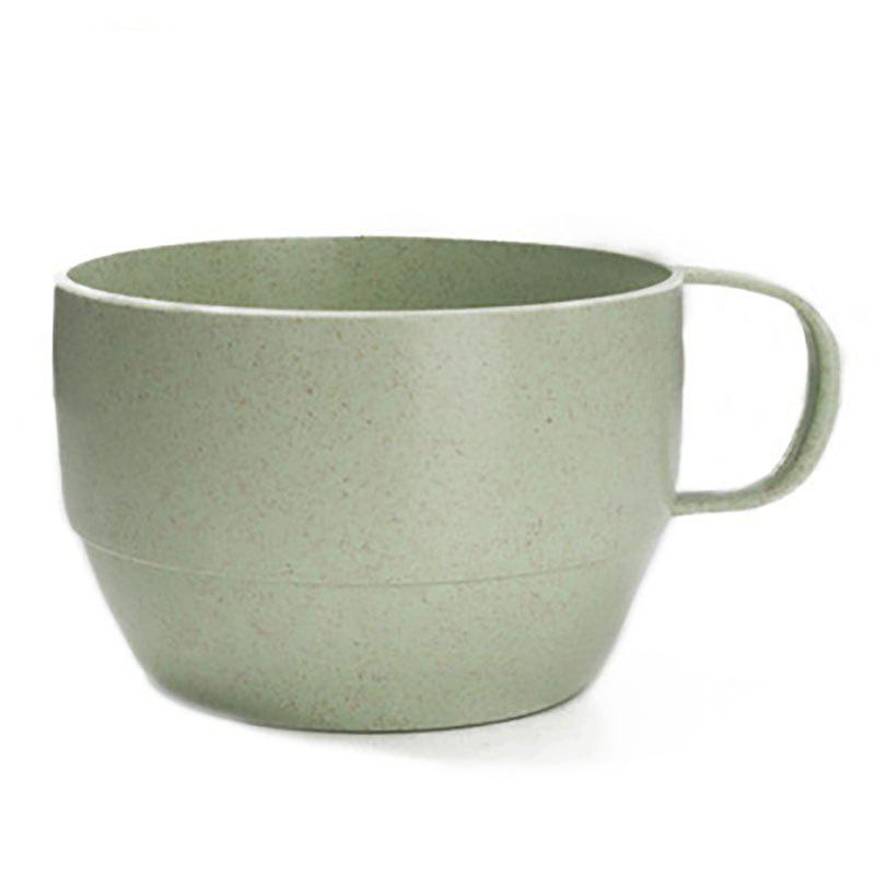 DIHE Wheat Straw Tea Cup Literature and Art Environmental Protection - GREEN