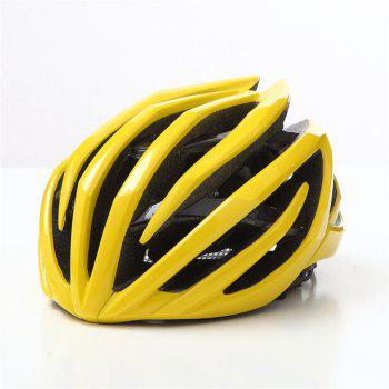 T-770 Bicycle Helmet Bike Cycling Adult Adjustable Unisex Safety Equipment - YELLOW 1 YELLOW