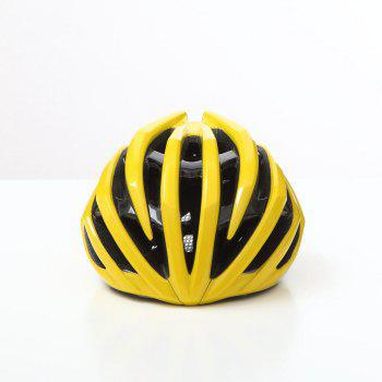 T-770 Bicycle Helmet Bike Cycling Adult Adjustable Unisex Safety Equipment -  YELLOW