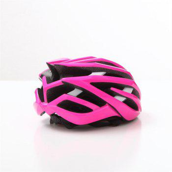 T-770 Bicycle Helmet Bike Cycling Adult Adjustable Unisex Safety Equipment - PAPAYA