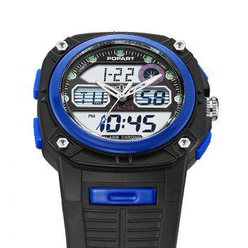 POPART 721AD Fashionable Multifunction Sports Unisex Watch - BLUE