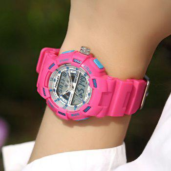 POPART POP792AD Casual Multifunctional Unisex Children Sports Watch - PINK