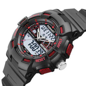 POPART POP792AD Casual Multifunctional Unisex Children Sports Watch - RED
