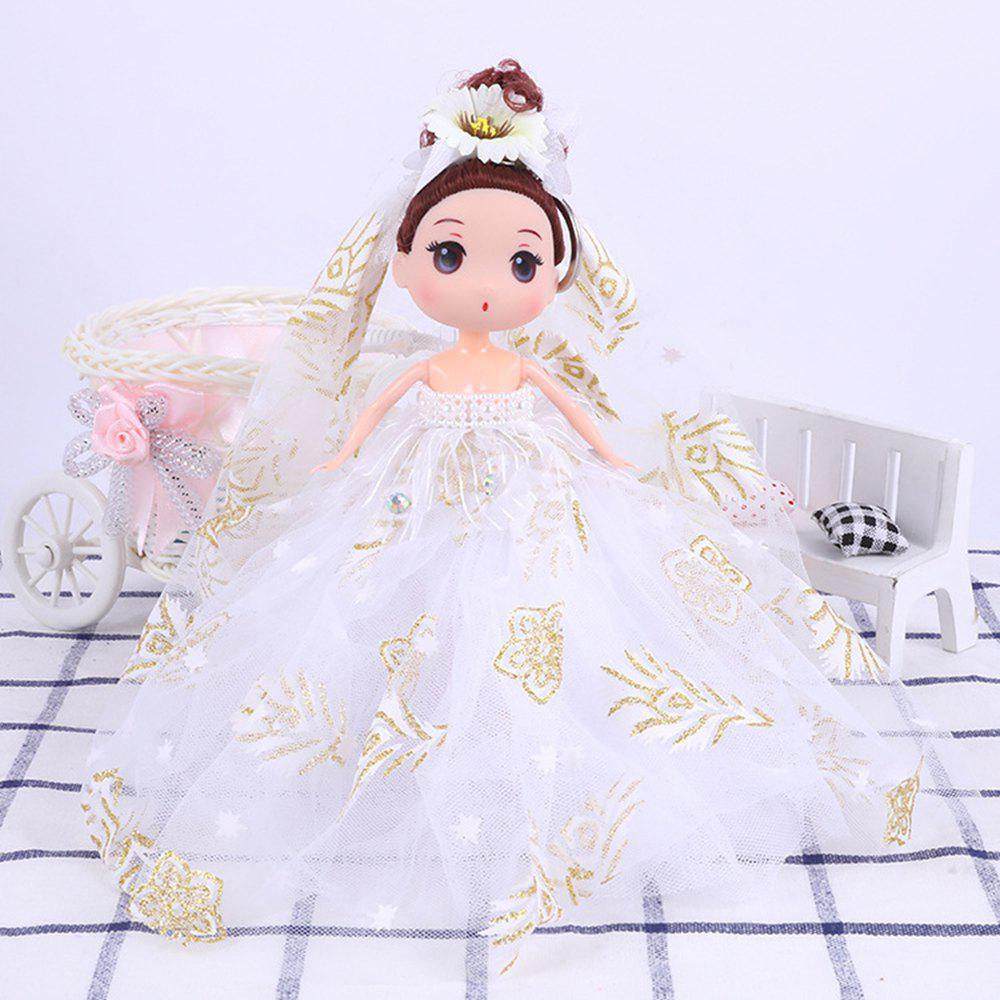 18CM High-quality Vinyl Doll - WHITE