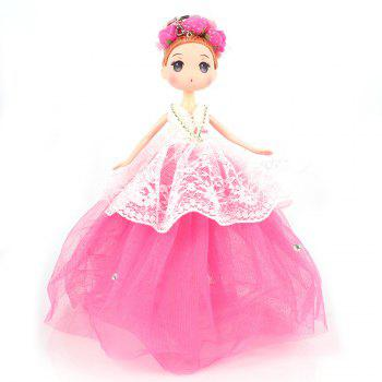 30 CM Cartoon Doll Key Chain Toy - ROSE RED ROSE RED
