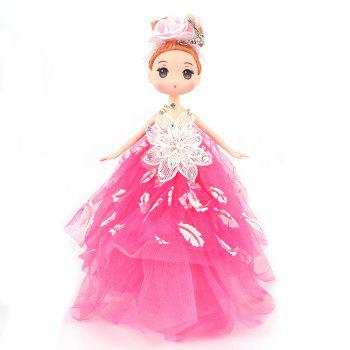 26CM wedding dress doll Toy Pendant - ROSE RED ROSE RED