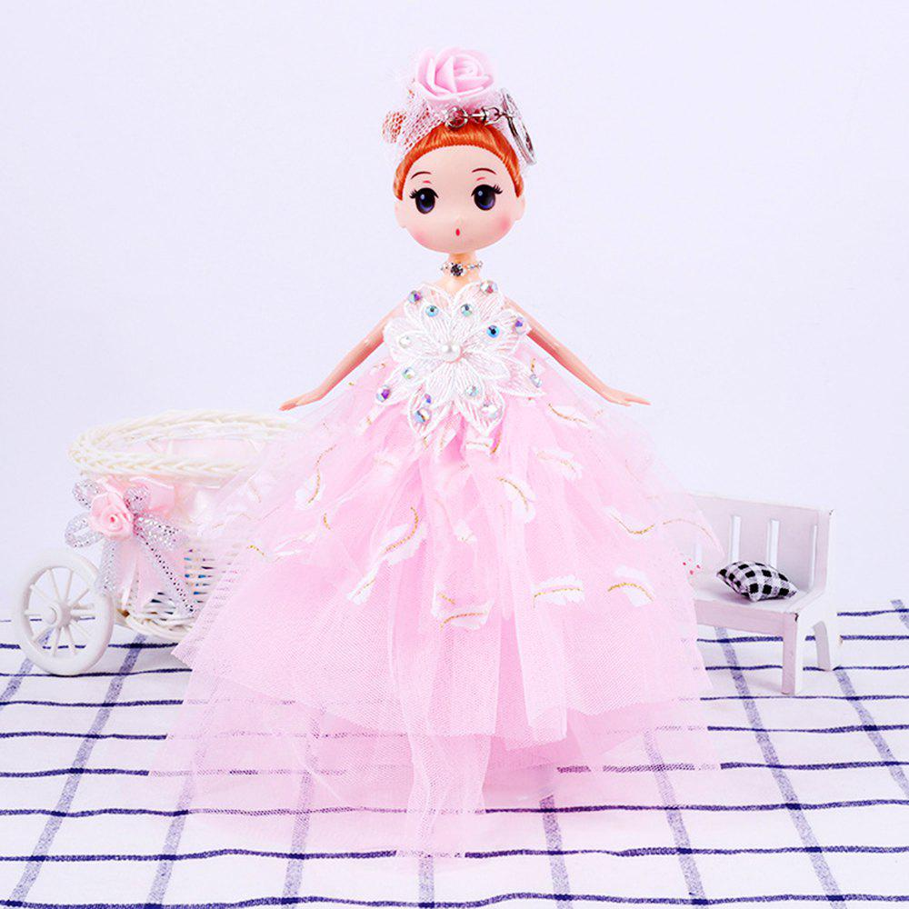 26CM wedding dress doll Toy Pendant - PINK