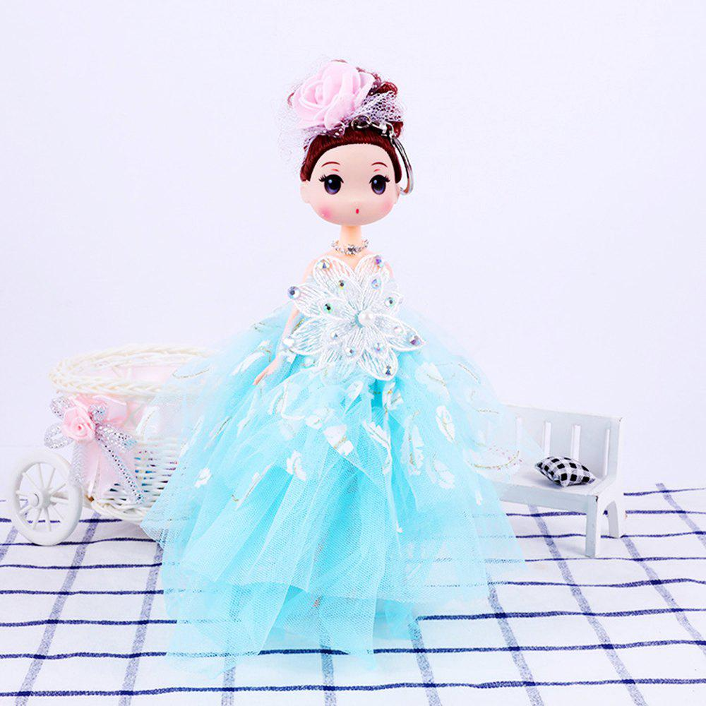 26CM wedding dress doll Toy Pendant - BLUE
