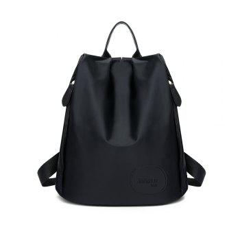 FLAMEHORSE Ultra Light Cute Girl bag Sweet Lady Backpack - BLACK BLACK