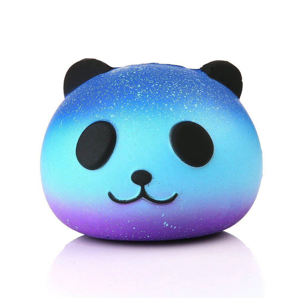 Star Panda Memory Foam EVA Decompression Toys - BLUE