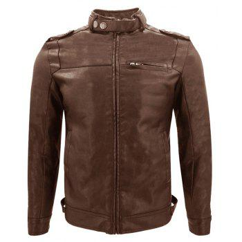 Autumn and Winter  Men S Motorcycle Fashion