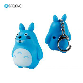 Brelong Noise-making  Cartoon Keychain with  LED Light -  BLUE