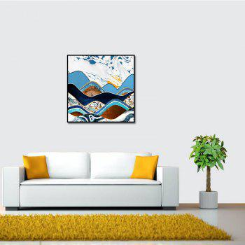 Modern Frameless Abstract Canvas Print for Home Wall Decoration - COLORFUL 19 X 19 INCH (50CM X 50CM)
