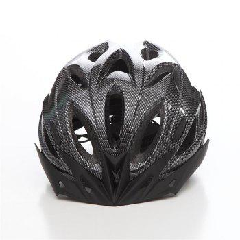 T-A016 Bicycle Helmet Bike Cycling Adult Adjustable Unisex Safety Equipment with Visor -  CARBON FIBER