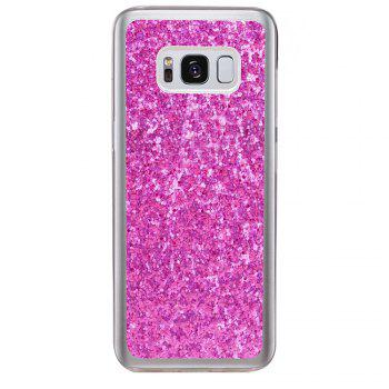 Soft Fashion Bling Shining Powder Sequins Case for Samsung Galaxy S8 Plus - ROSE RED