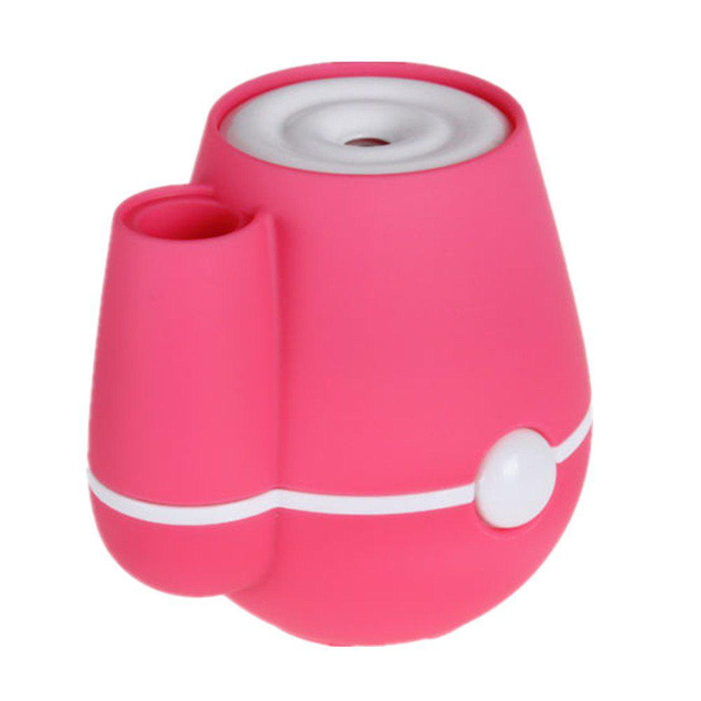 Silence De Ménage De Bureau D'air De Purificateur D'humidificateur De Mini Usb Vase - Rose Rosé