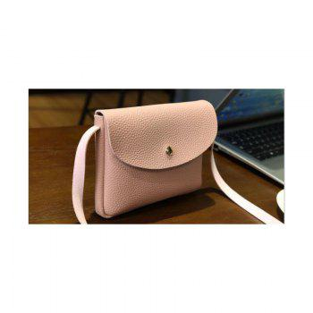 Les femmes occasionnels Lycra Pattern Mini Crossbody Bag - ROSE PÂLE