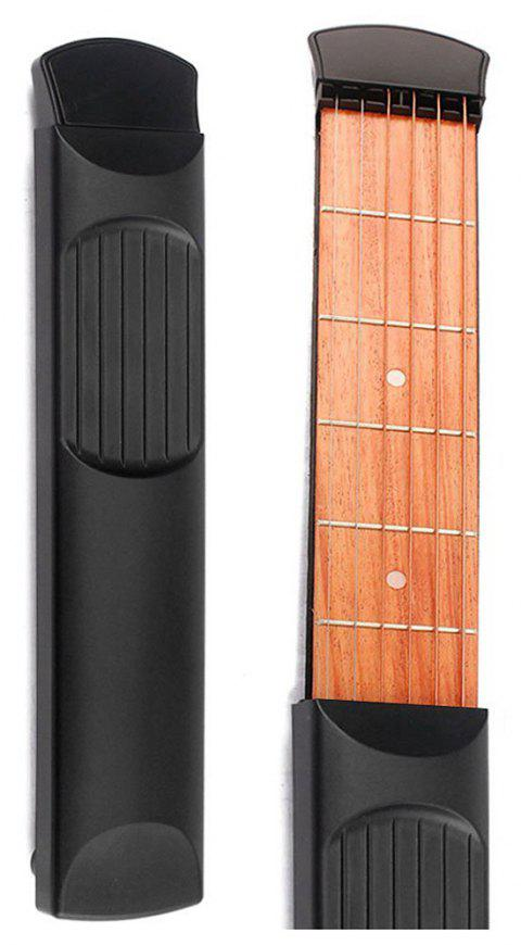 Pocket Strings Guitar For Beginner - BLACK