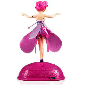 Magic Flying Fairy Toy - PINK