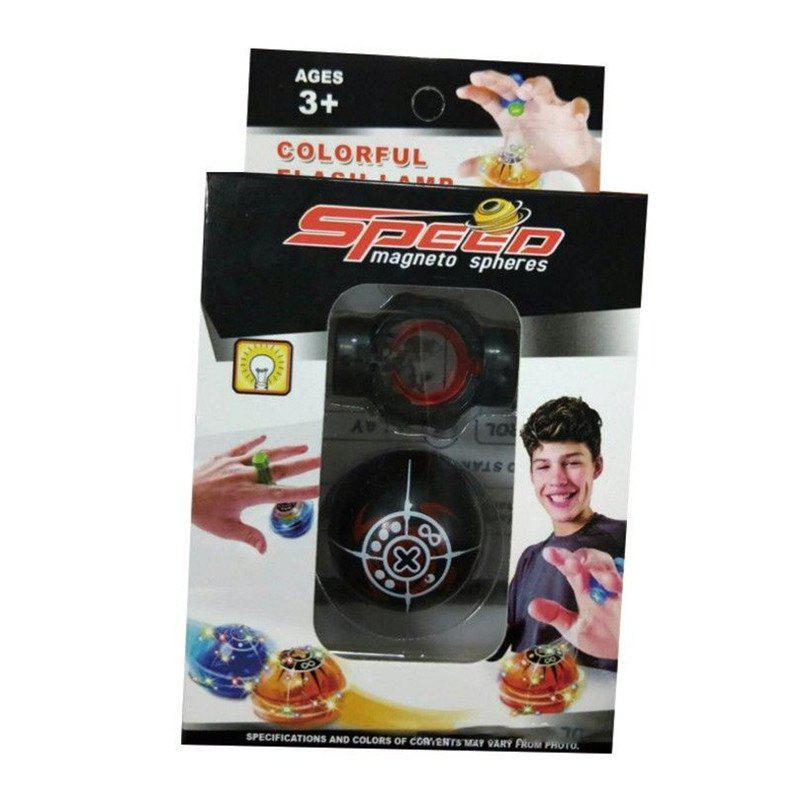 Magic Speed Magneto Spheres Flashing Ball Spinner Toys Stress Reducer magic ball 8 доставка снг