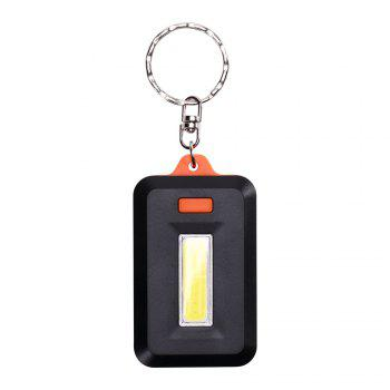U'King ZQ-X1300 1000LM 3 mode lampe torche LED COB 8 avec porte-clés - Orange
