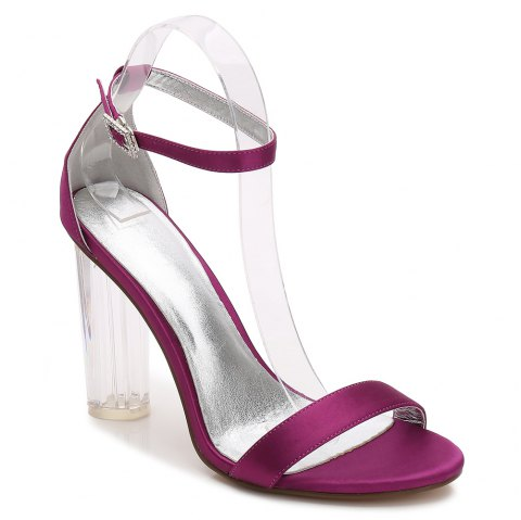2615-9Women's Shoes Wedding Shoes - PURPLE 40