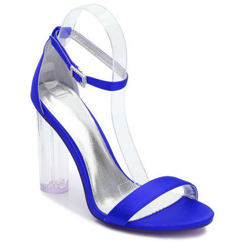 2615-9Women's Shoes Wedding Shoes - BLUE 39