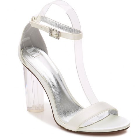 2615-9Women's Shoes Wedding Shoes - IVORY COLOR 42