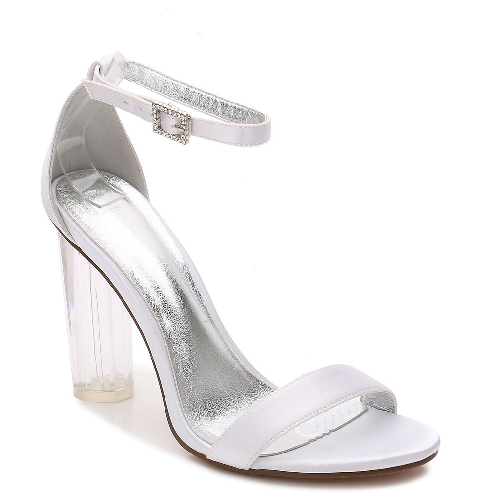 2615-9Women's Shoes Wedding Shoes - WHITE 36