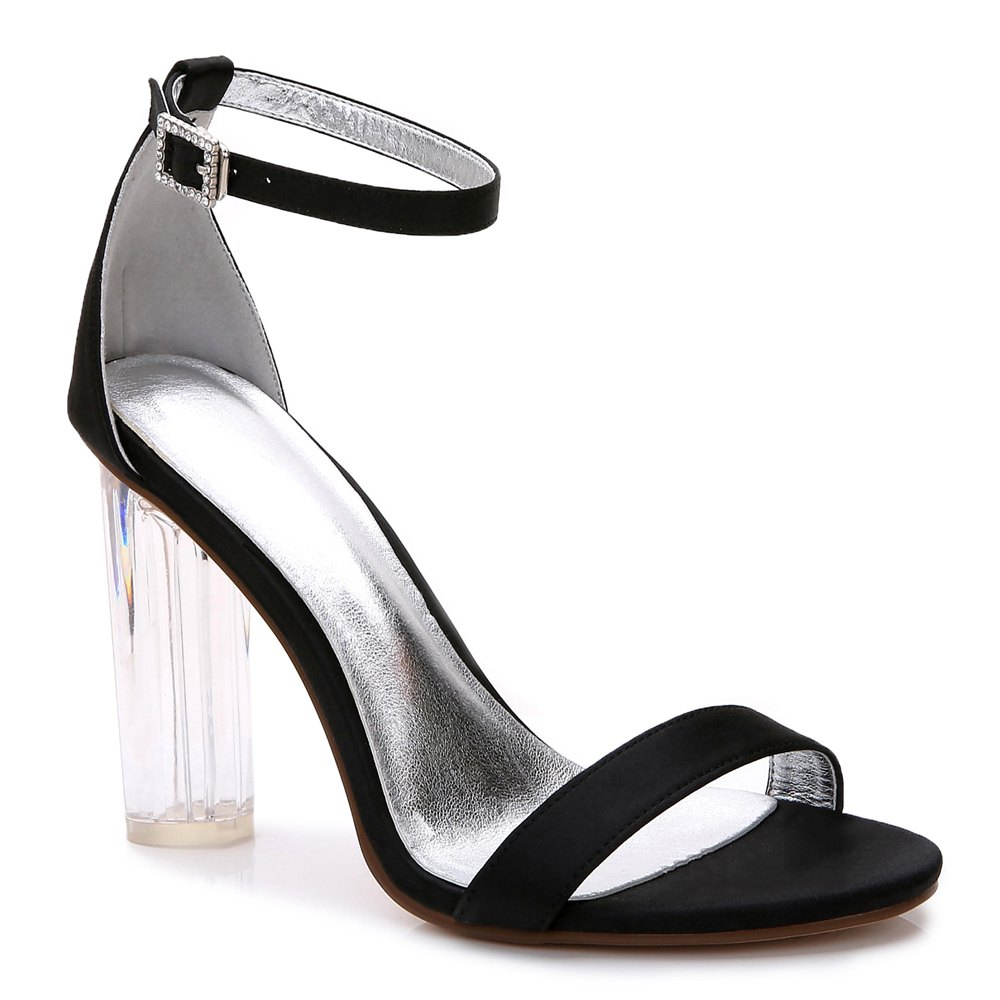 2615-9Women's Shoes Wedding Shoes - BLACK 42