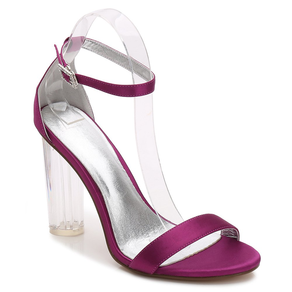 2615-9Women's Shoes Wedding Shoes - PURPLE 41