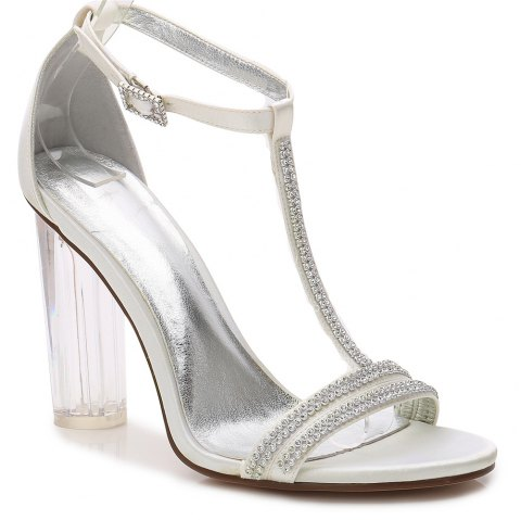 2615-11 Women's Shoes Wedding Shoes - IVORY COLOR 37