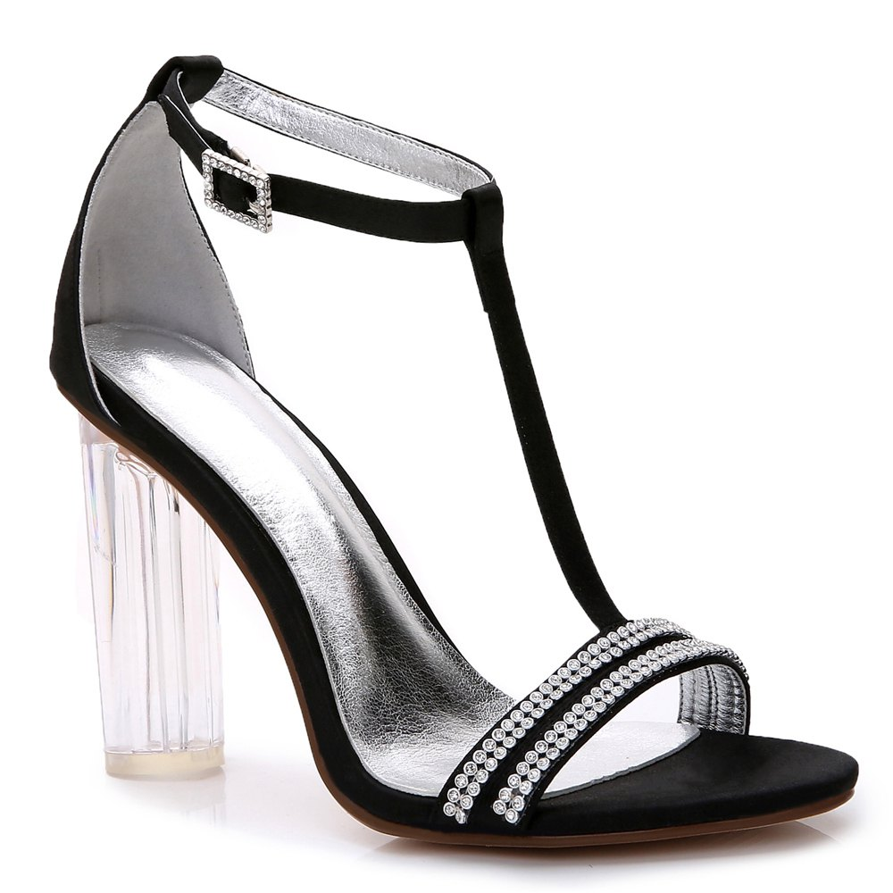 2615-11 Women's Shoes Wedding Shoes - BLACK 41