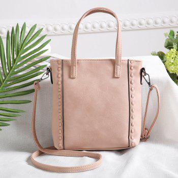 Women Handbags Lady Casual  Female Vintage Beach Travel Crossbody Shoulder Bags - PINK