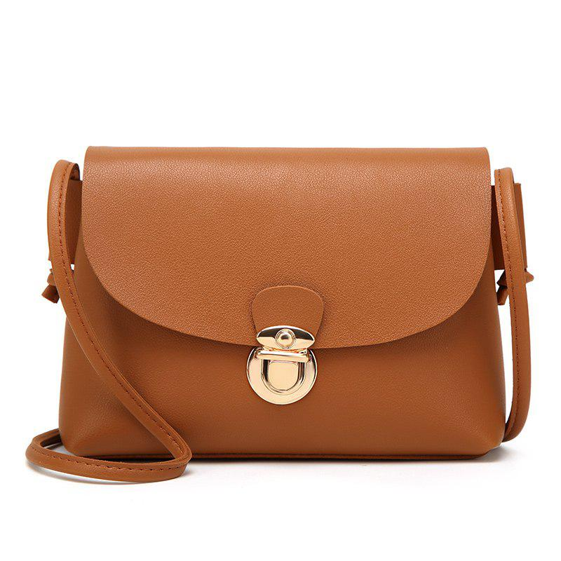 Personalized Casual Fashion and Stylish Cross-body Bag - BROWN
