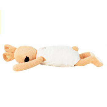 75CM Cute and Simple Sleeping Position Rabbit Doll - LIGHT BROWN