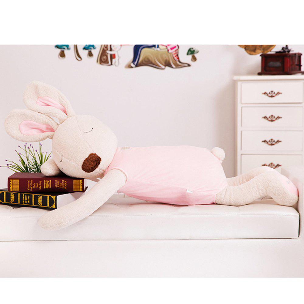 75CM Cute and Simple Sleeping Position Rabbit Doll - PINK