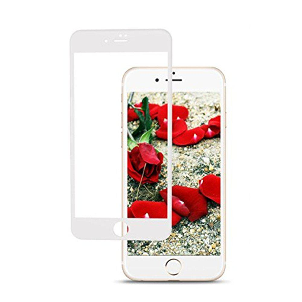 Tempered Glass Screen Protector Cell Phone Screen Protector Explosion Proof Membrane for iPhone 8 Plus - WHITE