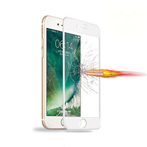 Tempered Glass Screen Protector Cell Phone Screen Protector Explosion Proof Membrane for iPhone 8 - WHITE