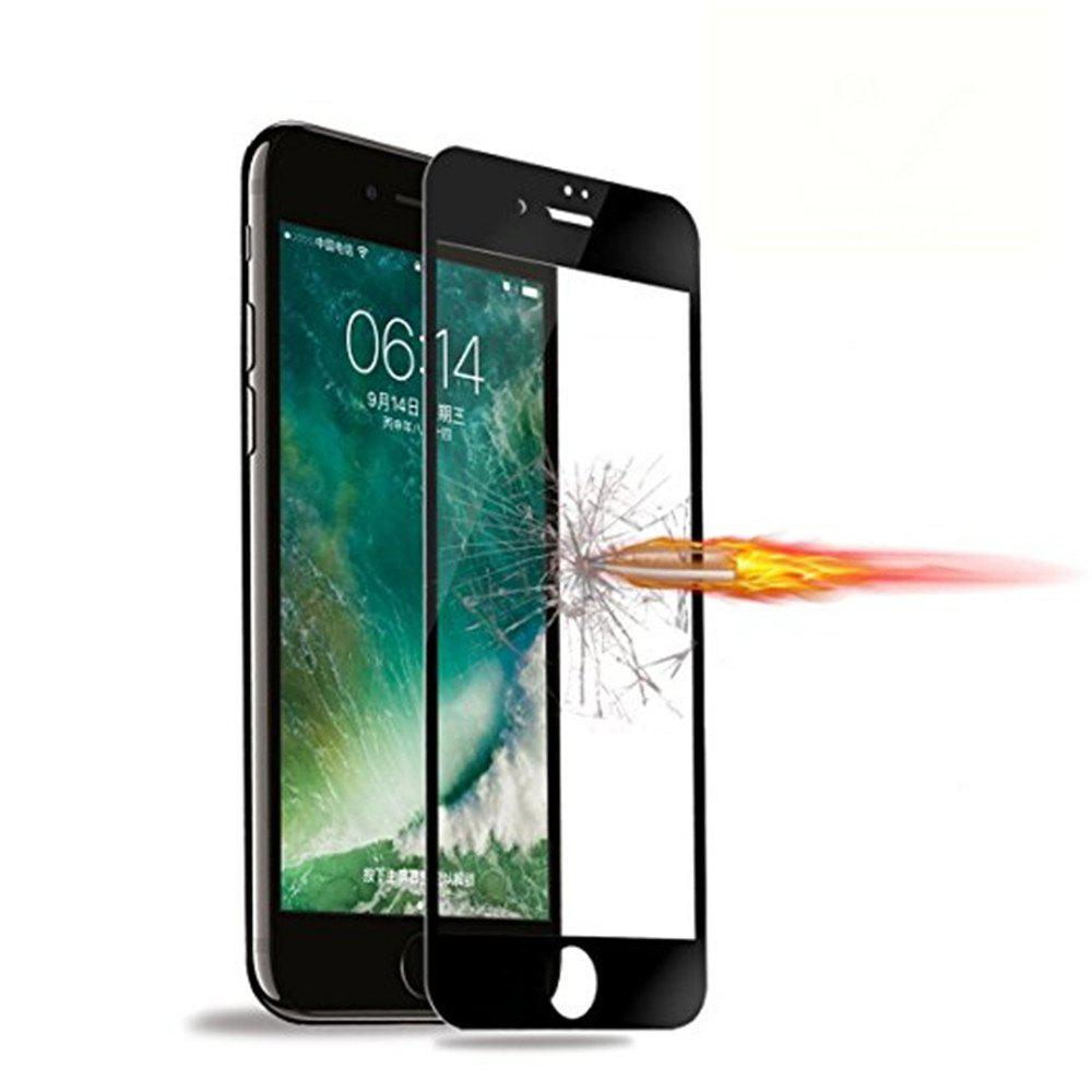 Tempered Glass Screen Protector Cell Phone Screen Protector Explosion Proof Membrane for iPhone 8 - BLACK