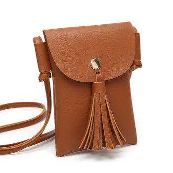 Ladies Casual College Wind Tassel Crossbody Bag