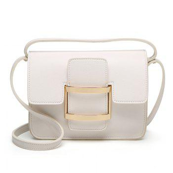 Ladies Fashion Cover Large Buckle Crossbody Bag