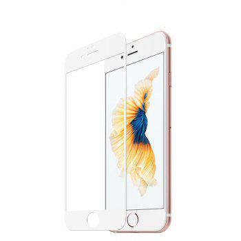 Full Cover HD Tempered Glass for iPhone 7 / 8 - WHITE WHITE