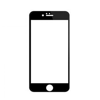Tempered Glass Screen Protector for iPhone 6 Plus / 6s Plus - BLACK BLACK