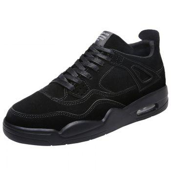 Fashion Men 's Shoes Sports and Leisure Air Cushion Shoes 39--44 - BLACK 9