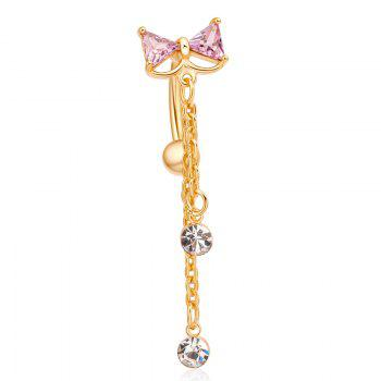 KUNIU Exquisite Fashion Bow Persian Style Zircon