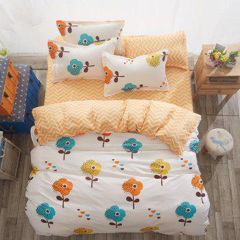 Fashion Fragrant Flower Personalized Polyester Bedding Set