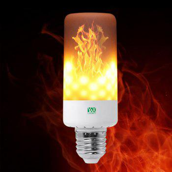 YWXLight E26 LED Flame Effect Fire Light Bulbs Flickering Emulation Flame Lamp AC85-265V