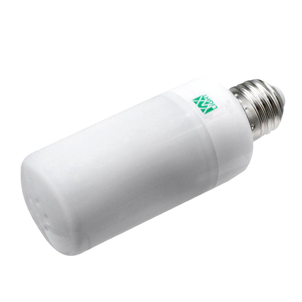 LED Flame Effect Fire Light Bulbs Flickering Emulation Flame Lamp - WARM WHITE