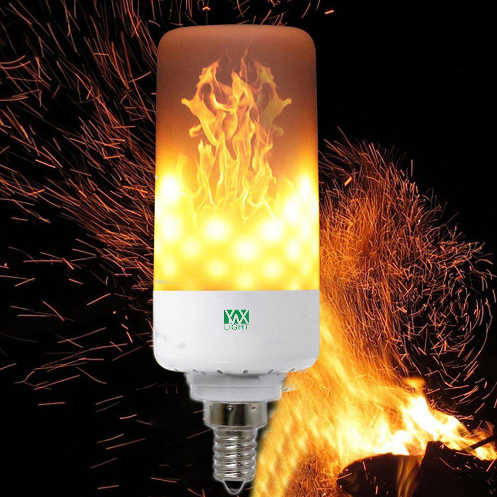 2018 LED Flame Pattern Fire Light Bulbs Flickering Emulation Flame ...